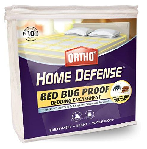 Ortho Home Defense Bed Bug Mattress or Box Spring Encasement (Queen)