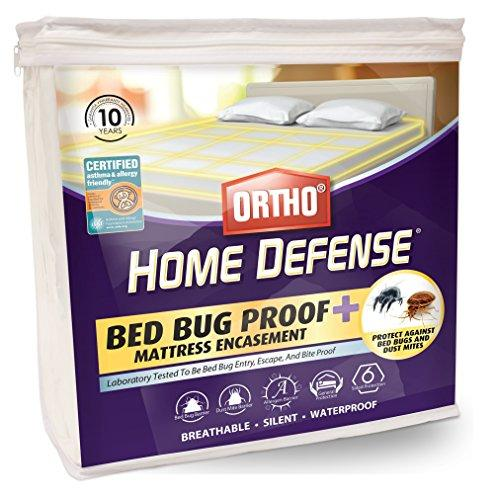 Ortho Home Defense PLUS Bed Bug Mattress or Box Spring Encasement (Twin)