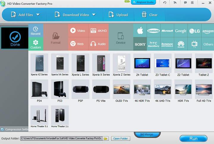 convertir videos de todos los formatos para dispositivos iPhone Sony PSP Playstation Amazon Kindle Fire LG Huawei telefonos Sony y más
