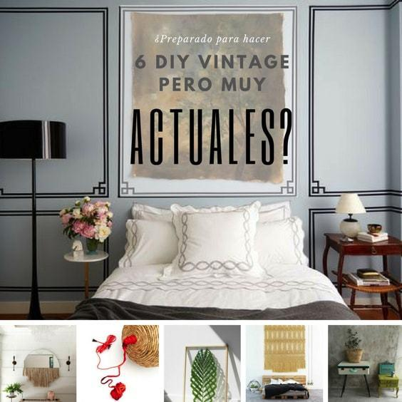 deco retro mas actual - 6 tutoriales diy