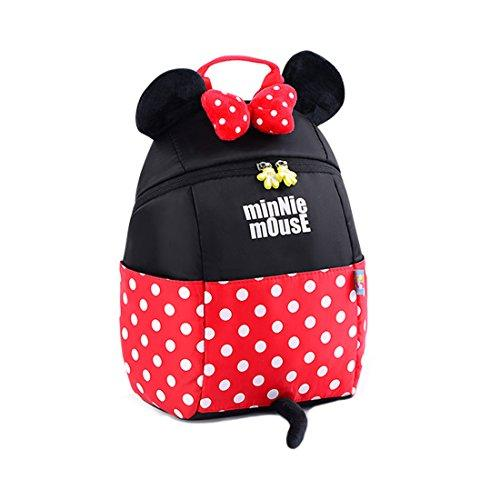 Disney Kids Backpack Mickey Mouse Schoolbags Backpack for Toddler (minnie)