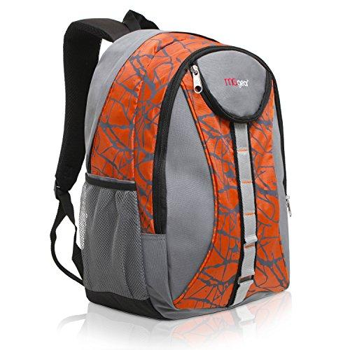 18 Inch MGgear Student Bookbag Children Sports Backpack/Travel Carryon, Orange