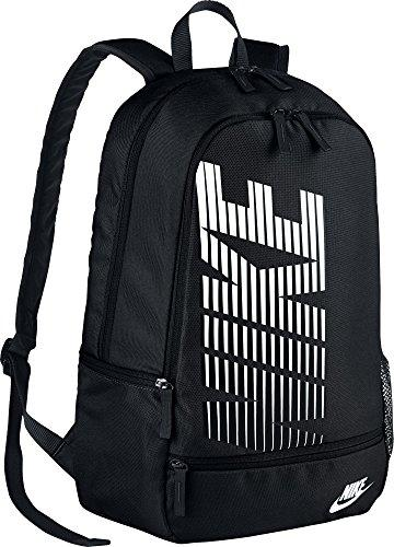 Nike Classic North Logo Graphic Backpack Black/White