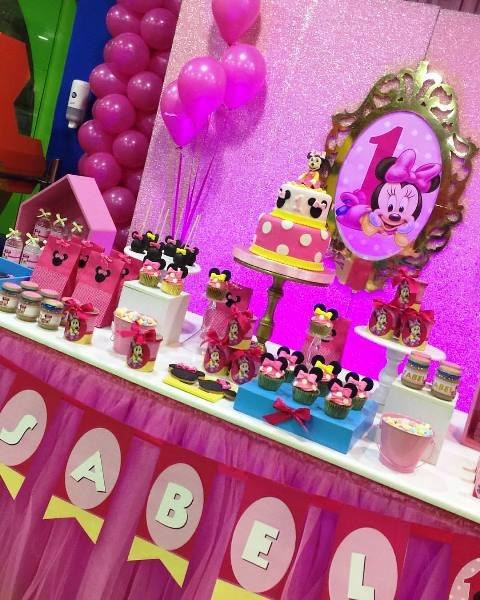 minnie mouse baby candy bar