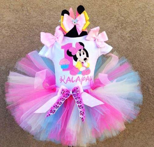 minnie mouse bebe pastel-