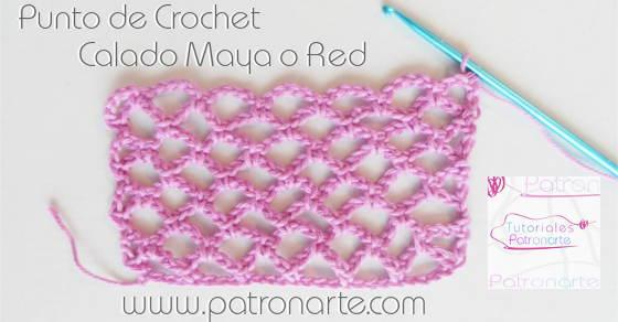 unto de Crochet Maya o Red blog