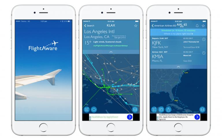 flightaware captura app