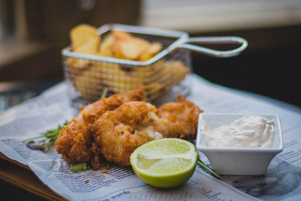receta fish and chips