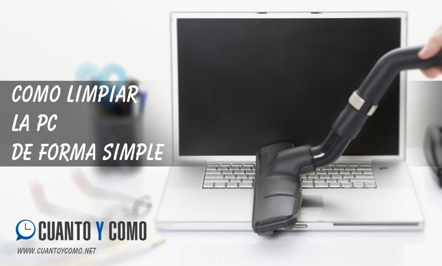 limpiar pc simple rapido facil
