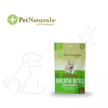PET NATURALS BREATH BITES FOR DOGS | Best for Pets