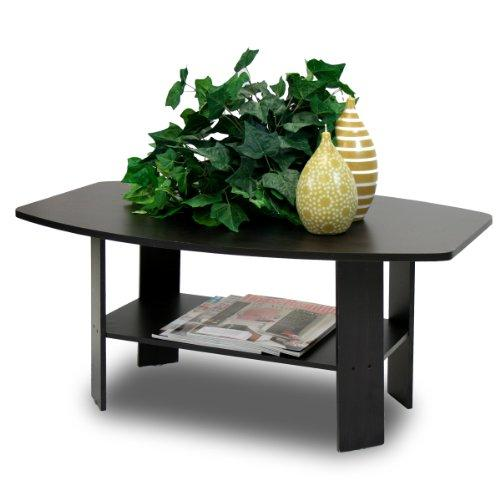 Furinno 11179EX Simple Design Coffee Table, Espresso