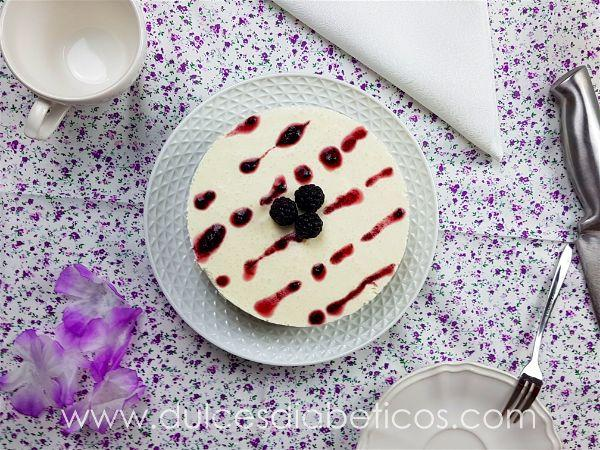 Tarta mousse de yogur light