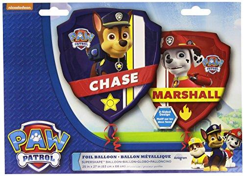 Anagram International 3018201 Paw Patrol Shop Balloon Pack, 27""