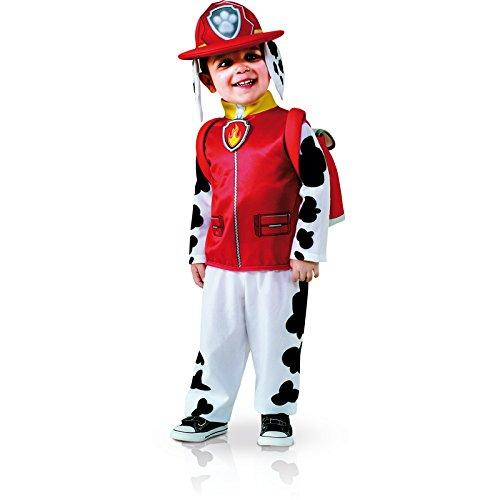 Rubies Costume Toddler PAW Patrol Marshall Child Costume, One Color, 3-4 Years