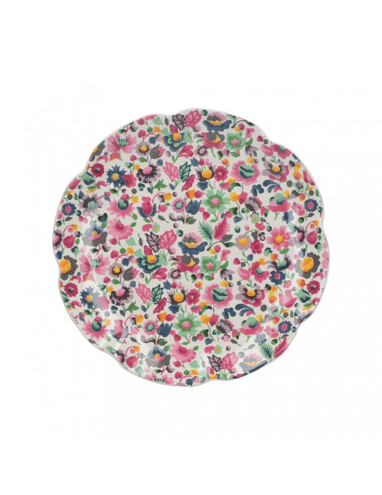 PLATO DE CERÁMICA BLOOMING FANCY FLORES CREATIVE TOPS