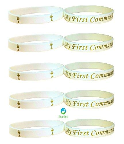 20 pcs FIRST COMMUNION! wristband Party Favors. (My First Communion.)