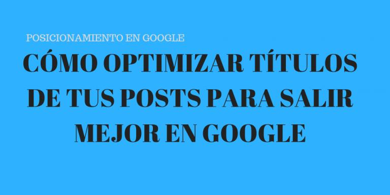 optimizar titulos posts wordpress