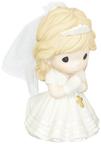 Precious Moments Remembrance Of My First Holy Communion, Bisque Porcelain Figurine, Girl, 133024