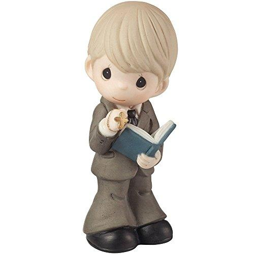 Precious Moments, This Is The Day The Lord Has Made Boy Figurine, 153007