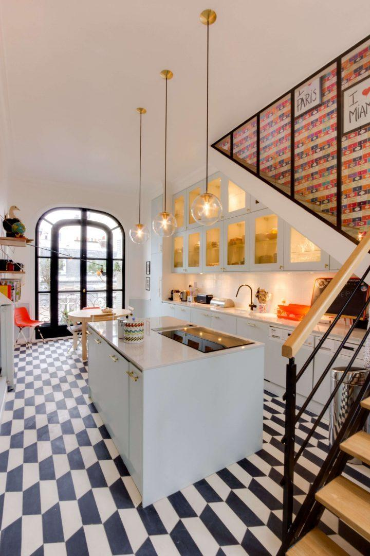 decoracion-house-tour-paris-vintage-cocina