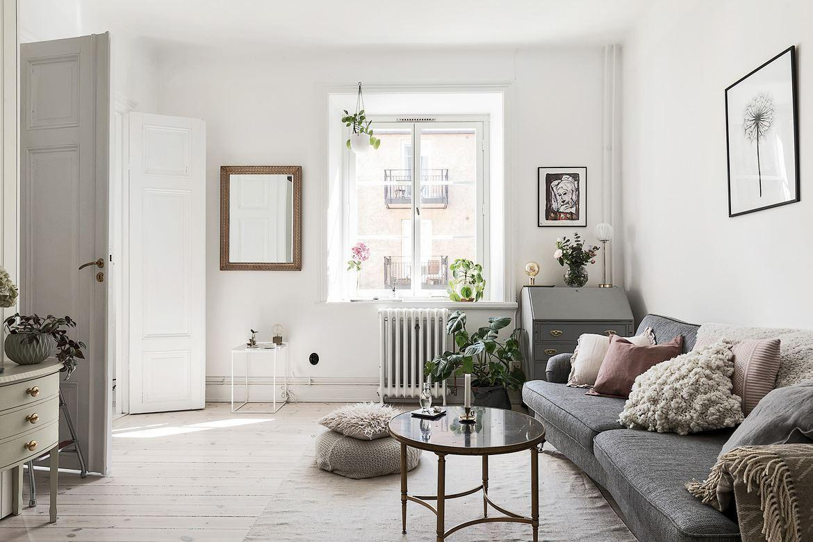 Romantic Scandinavian apartment 01