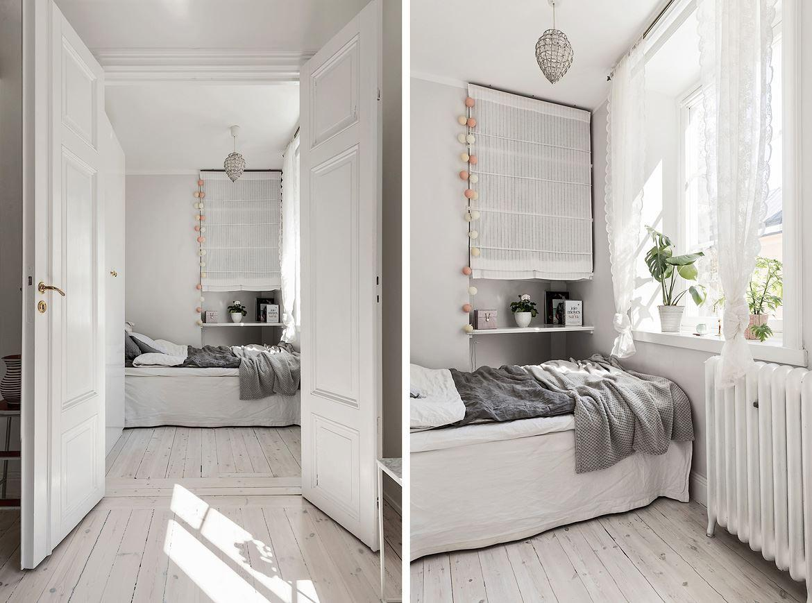 Romantic Scandinavian apartment 10