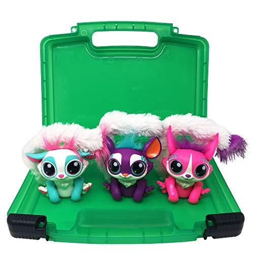 Life Made Better Toy Case, Compatible with Mattel Lil Gleemerz Dolls, This Box is Not Made by Mattel Lil Gleemerz, Stores Up to 5 Dolls, Green