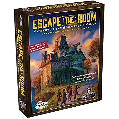 ThinkFun Escape the Room Stargazers Manor - An Escape Room Experience in a Box For Age 10 and Up