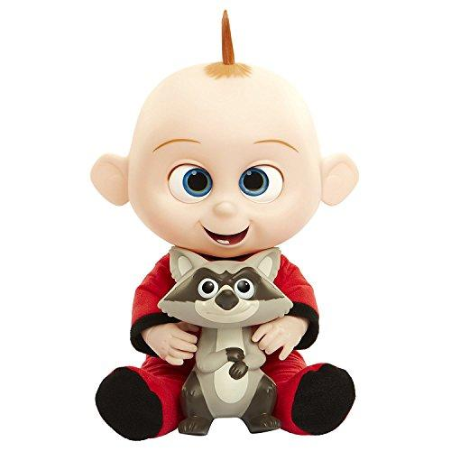 Jack-Jack Plush-Figure Features Lights & Sounds and comes with Raccoon Toy (Limited edition)