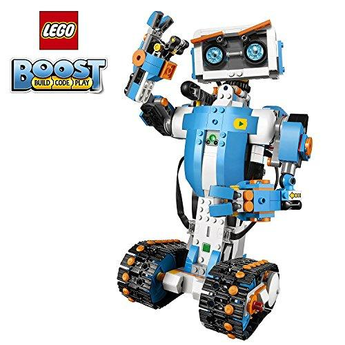 LEGO Boost Creative Toolbox 17101 Building and Coding Kit, Fun, Educational, Learning, STEM, Robot Toys for Kids (847 Pieces)