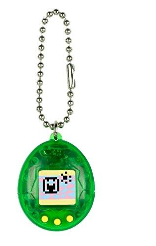 Tamagotchi Mini, Translucent Green with Yellow
