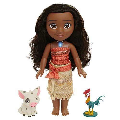 Moana Disneys Singing Adventure Doll and Friends Doll Playset
