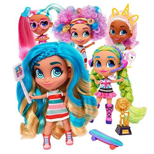Indoor toys Kids Girls Toys Hairdorables Dolls Hairdorables ‐ Collectible Surprise Dolls and Accessories: Series 1 (Styles May Vary) 1, Multicolor And BONUS (1) UNICORN LIPGLOSS