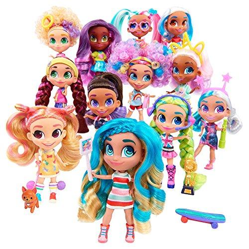 Toy Indoor Kids Girls Hairdorables Dolls Hairdorables ‐ Collectible Surprise Dolls and Accessories: Series 1 (Styles May Vary) 1, Multicolor and Bonus (1) Sprinkle Donut Lipgloss