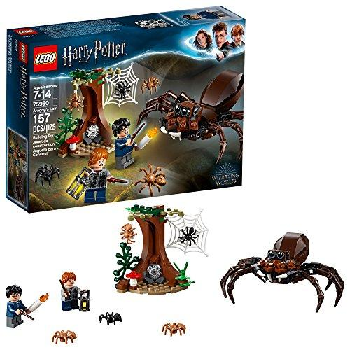 LEGO Harry Potter and The Chamber of Secrets Aragogs Lair 75950 Building Kit (157 Pieces)