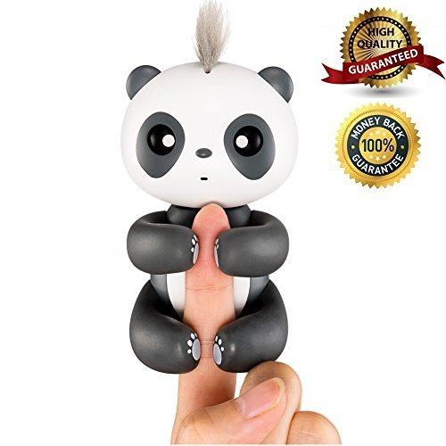 Luerpci Panda Toy,Smart Interactive Electronic Panda for Kids Baby,Gifts for Boys and Girls (Black) …
