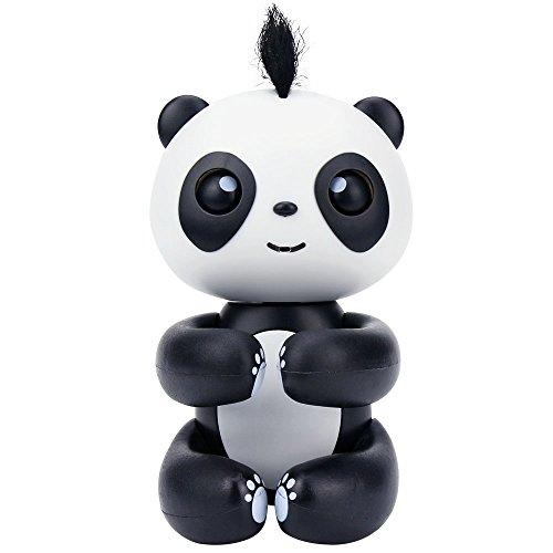 Happy Panda, Baby Panda, Daluo Electronic Interactive Lovely Panda Toys for Christmas, for the Birthday, for a Special Day Presents (Black)