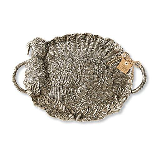 Mud Pie Serving Tray Platter, Turkey