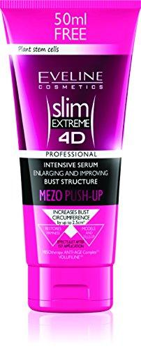 Eveline Slim Extreme 4D Bust Enhancing Serum Mezo Push-Up, 7.04 Fluid Ounce