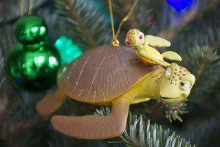 Disney Holiday Finding Nemo Crush & Squirt Turtle Ornament - Disney Theme Parks Exclusive & Limited Availability