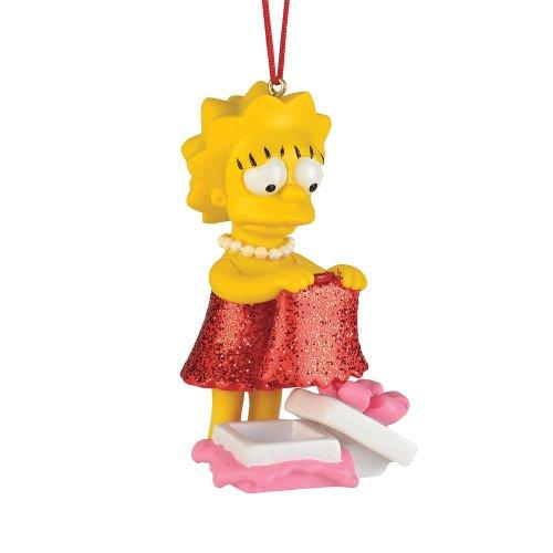 Department 56 The Simpsons Lisas New Dress Ornament