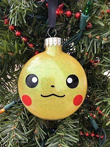 Pikachu Ornament, Pokemon Ornament, Pokemon Gift, Pikachu Pokemon, Personalized Ornament, Boys Ornament