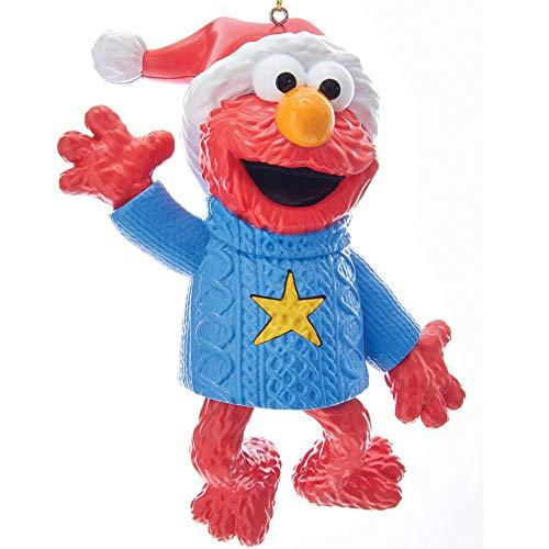 "Kurt Adler 4"" ELMO LIGHT & SOUND ORNAMENT"