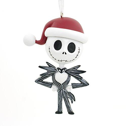 Hallmark Christmas Ornament Disney Nightmare Before Christmas Jack Skellington Santa Hat Halloween