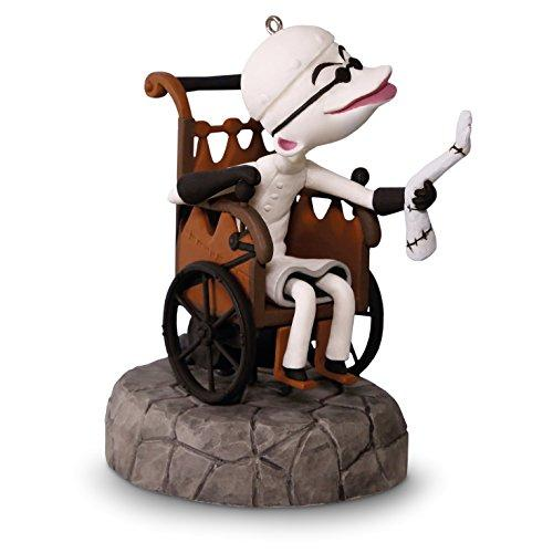 "Hallmark Keepsake Tim Burtons The Nightmare Before Christmas ""Dr. Finklestein"" Holiday Ornament"