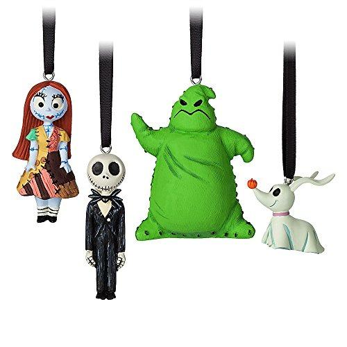 Disney Tim Burtons The Nightmare Before Christmas Sketchbook Mini Ornament Set
