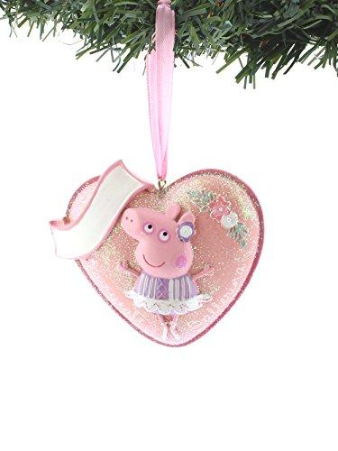Kurt Adler Peppa Pig Personalizable Ornament Gift Boxed