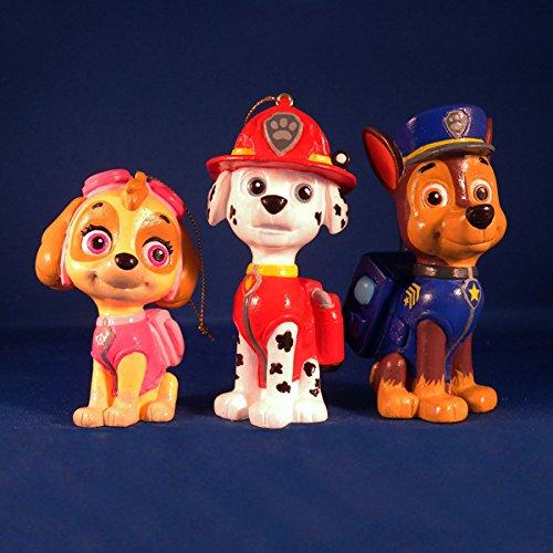 Paw Patrol Cartoon Character Ornament Set