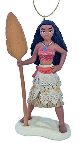 Moana (Princess) Girl Princess of Motunui Figurine Holiday Christmas Tree Ornament - LImited Availability