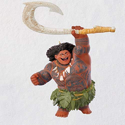 Hallmark Keepsake Christmas Ornament 2018 Year Dated, Disney Moana Maui